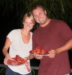 Maine Lobster in Costa Rica?