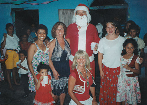 Christmas Eve in San Juanillo 1992
