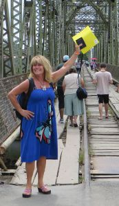 Carole Jean crossing Panama border