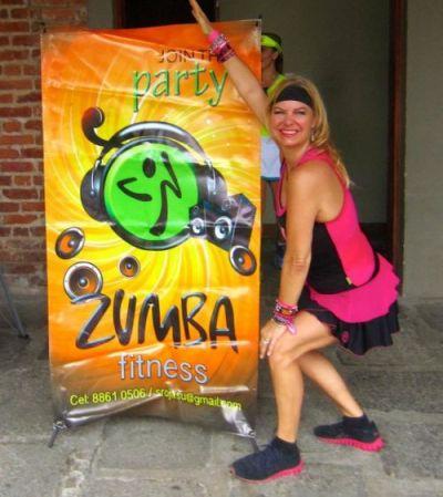 Zumba teacher