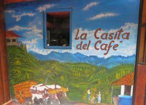 Cavorting at La Casita delCafé