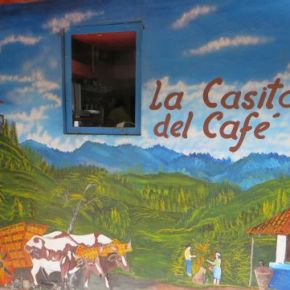 Cavorting at La Casita del Café