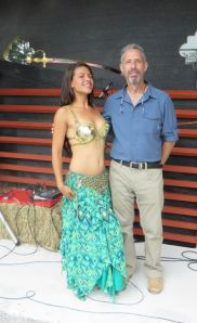 Howard & Belly Dancer