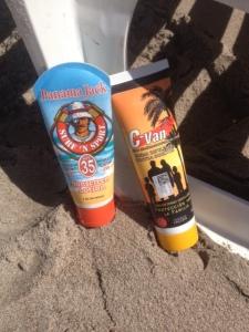 Sunscreen vs. Insect repellant