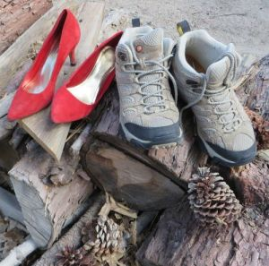 Red Stilettos or Hiking Boots?