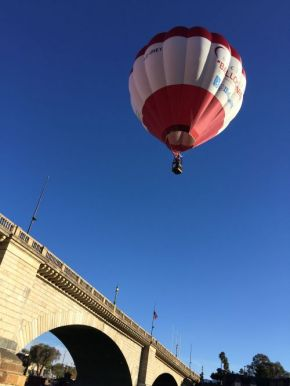 Up, Up and …Over London Bridge!