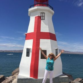 Lake Havasu's Lighthouse Replicas